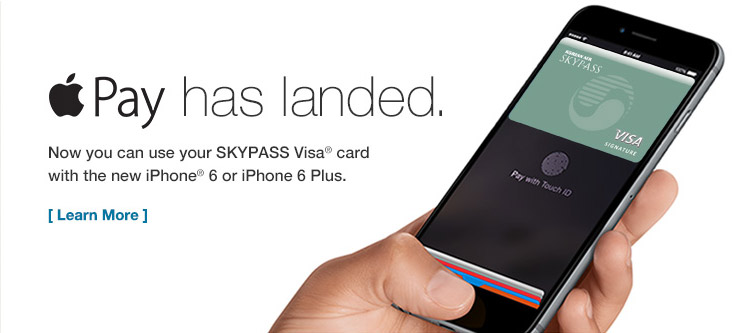 Apple Pay has landed