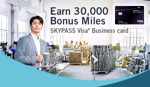 Earn 30,000 bonus miles and turn business expenses into miles