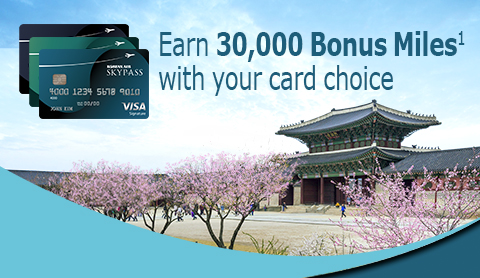 Beautiful timing! Earn 30,000 Bonus Miles with your card choice. Click for offer details.