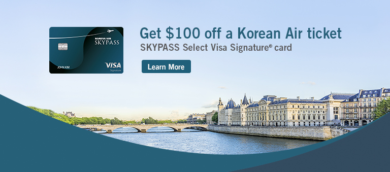 Get $100 off a Korean Air ticket