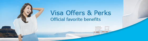 Visa Offers & Perks: Official favorite benefits