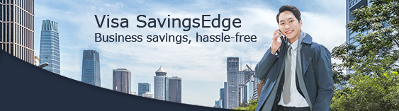 Visa SavingsEdge: Business savings, hassle-free