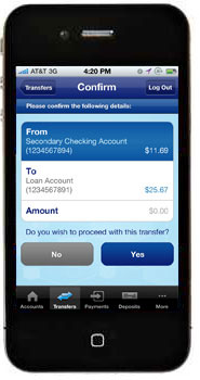 iPhone - US Bank Mobile App